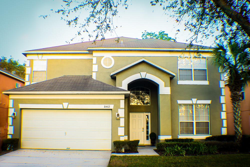 6 Bed 5.5 Bath Mickey's Mansion Emerald Island Pool, Spa and Gameroom Home