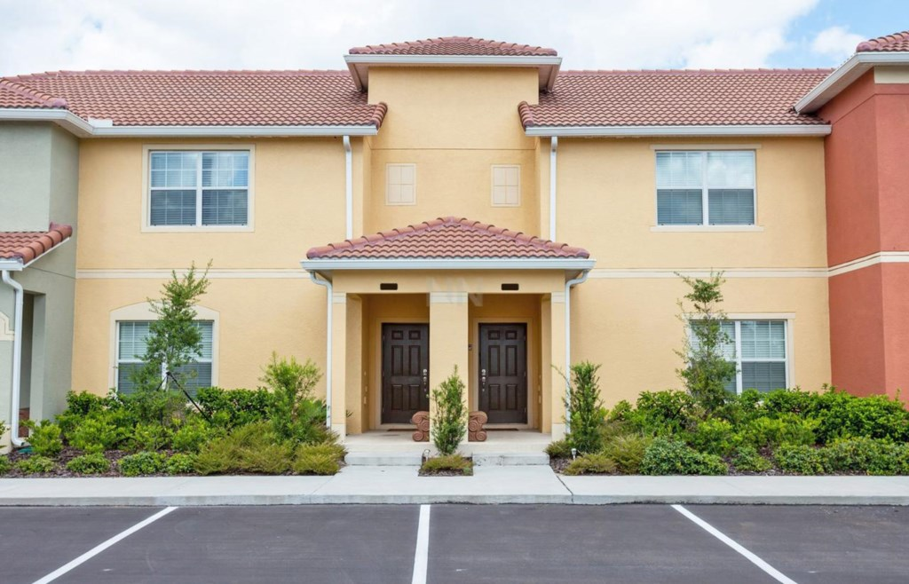 4 Bed 3 Bath 8921CP Paradise Palms Resort Pool Townhome image
